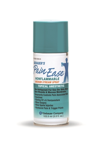Gebauer S Pain Ease Stream Spray Rx 3 5 Oz Aerosol Can